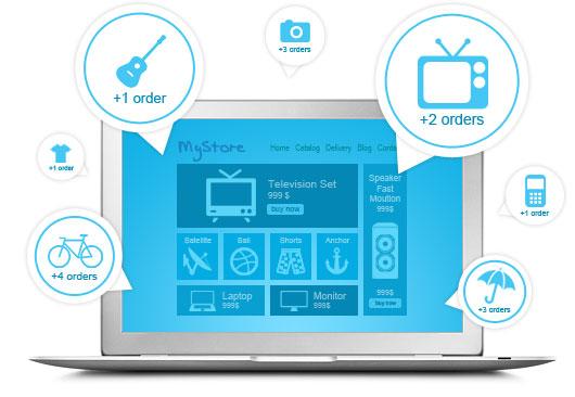 Изработка на онлайн магазин План GRAND с мобилна версия от GS-WebCreator