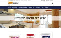 Изработка на онлайн магазин за интериорни бои от екипа на GS-WebCreator