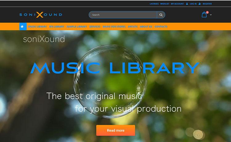 Изработка на онлайн магазин за продажба на музика, звуци, лупове