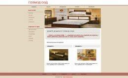 Изработка на сайт за мебели-GS-WebCreator