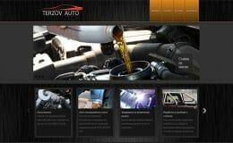Изработка на сайт за ролбари, степенки и багажници за автомобили, заваряване на гърнета и ауспуси, изкърпване на коли