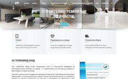 Изработка на сайт за строителство, саниране и реконструкция на фирма Термобилд