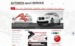 Изработка на сайт на автосервиз AUTOBOX sport
