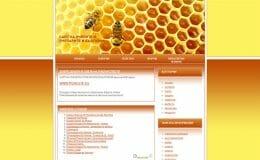Изработка на сайт на пчелари-GS-WebCreator
