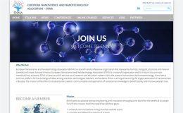 Изработка на сайт на ENNA (Европейска Асоциация по Нанонауки и Нанотехнологии)-GS-WebCreator